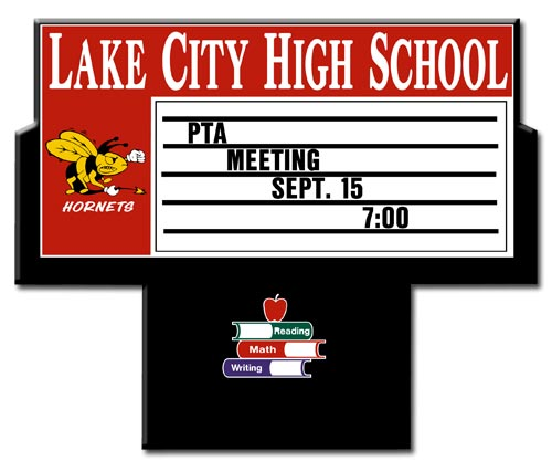 School_Signs_K3000_LakeCityHigh