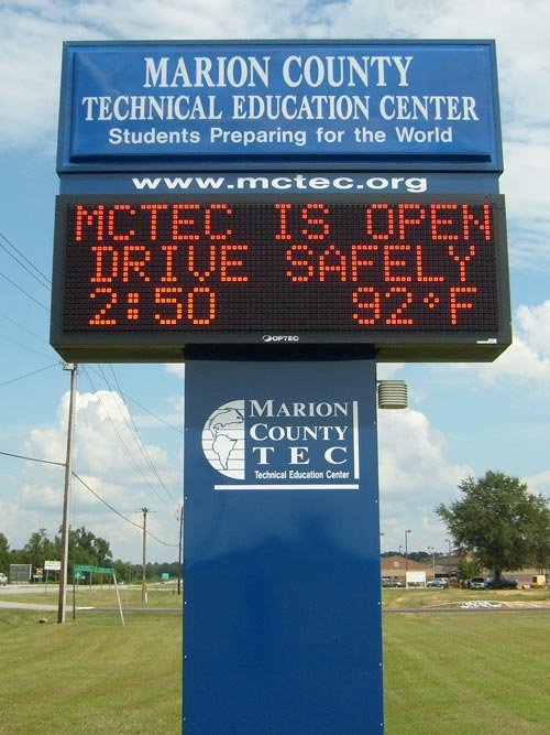 school_signs_k2000_marion_county_technical
