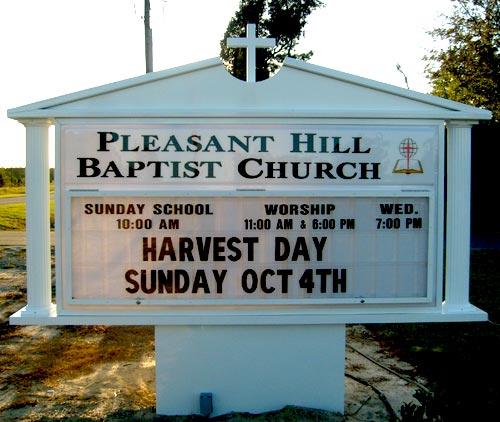 church-signs-message-pleasant-hill