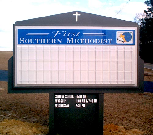 church_signs_genesis_first_southern_methodist